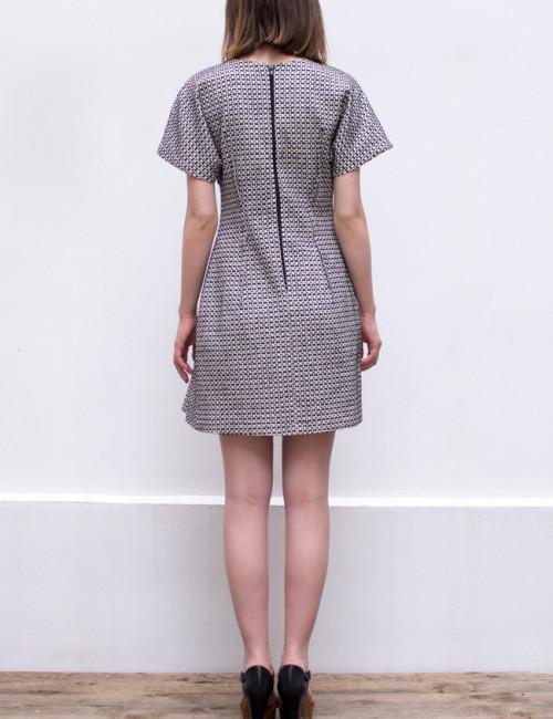 structured dress_back
